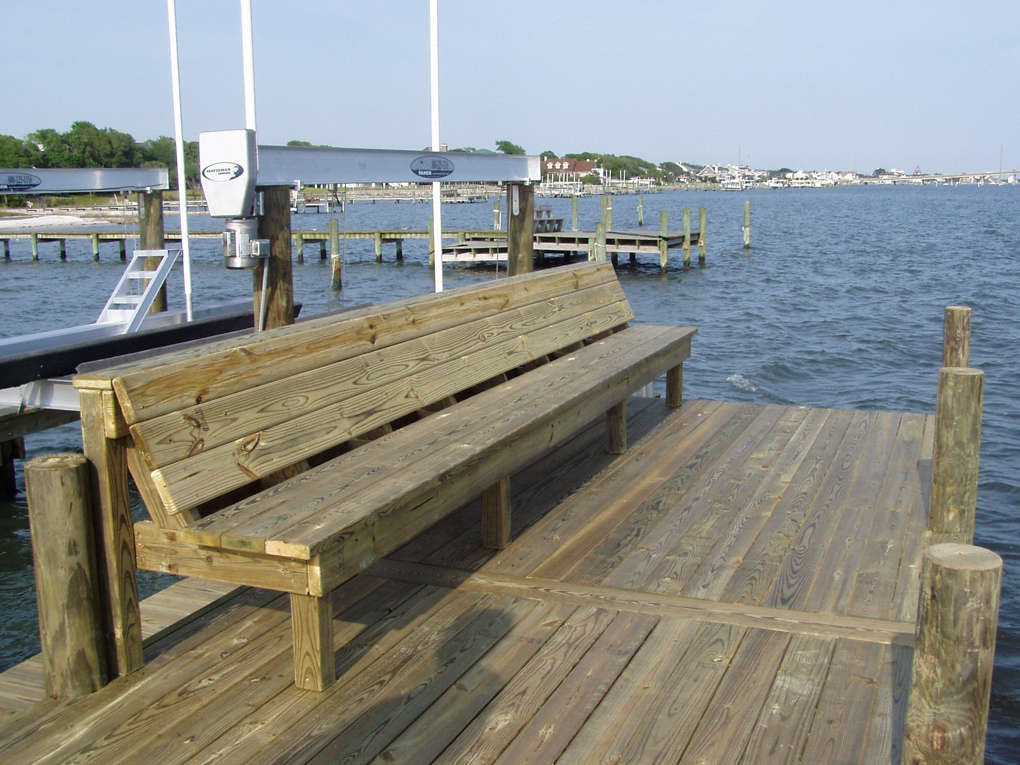 Photos Dock Bench